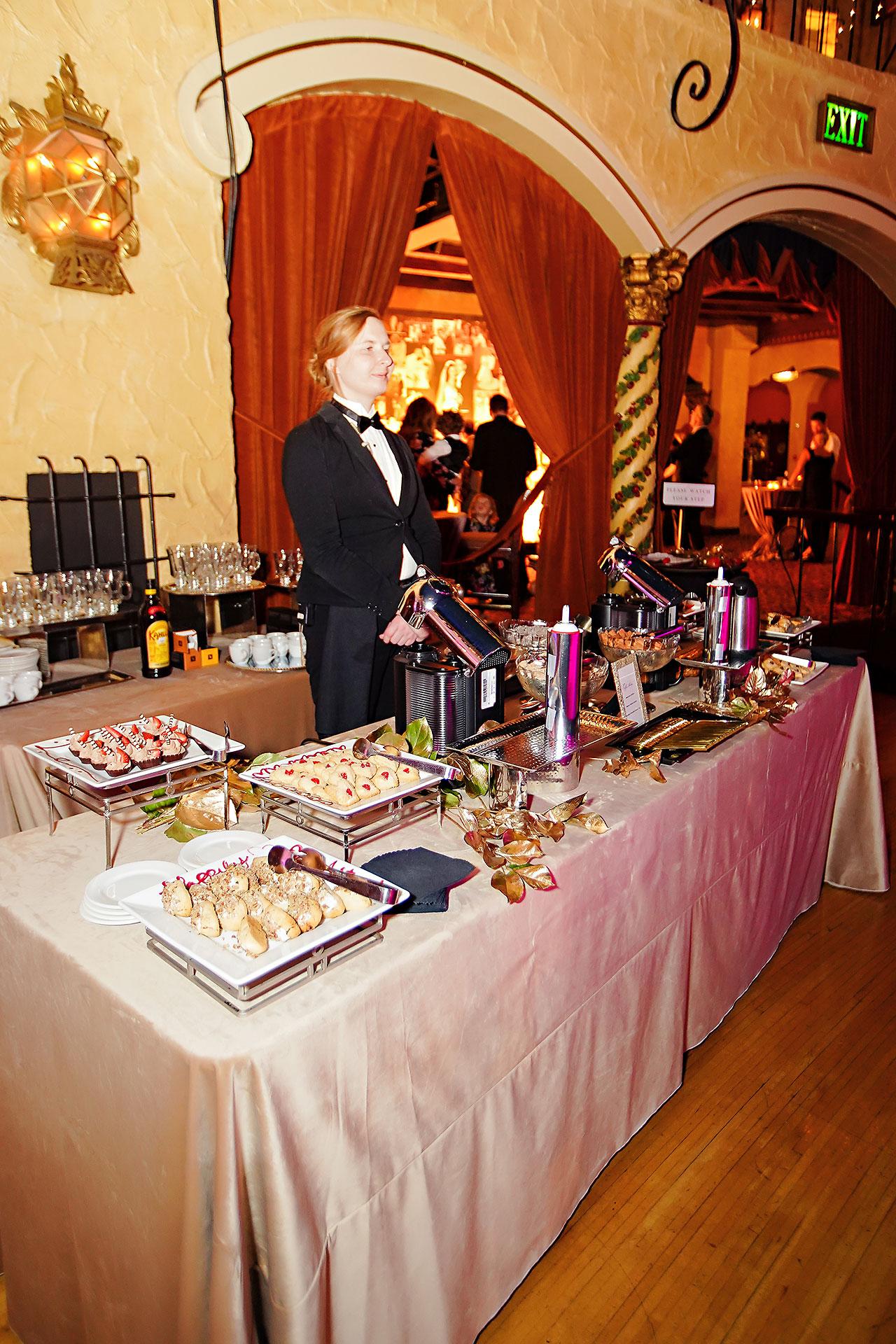 Lucia Matt Indiana Roof Ballroom Wedding Reception 225