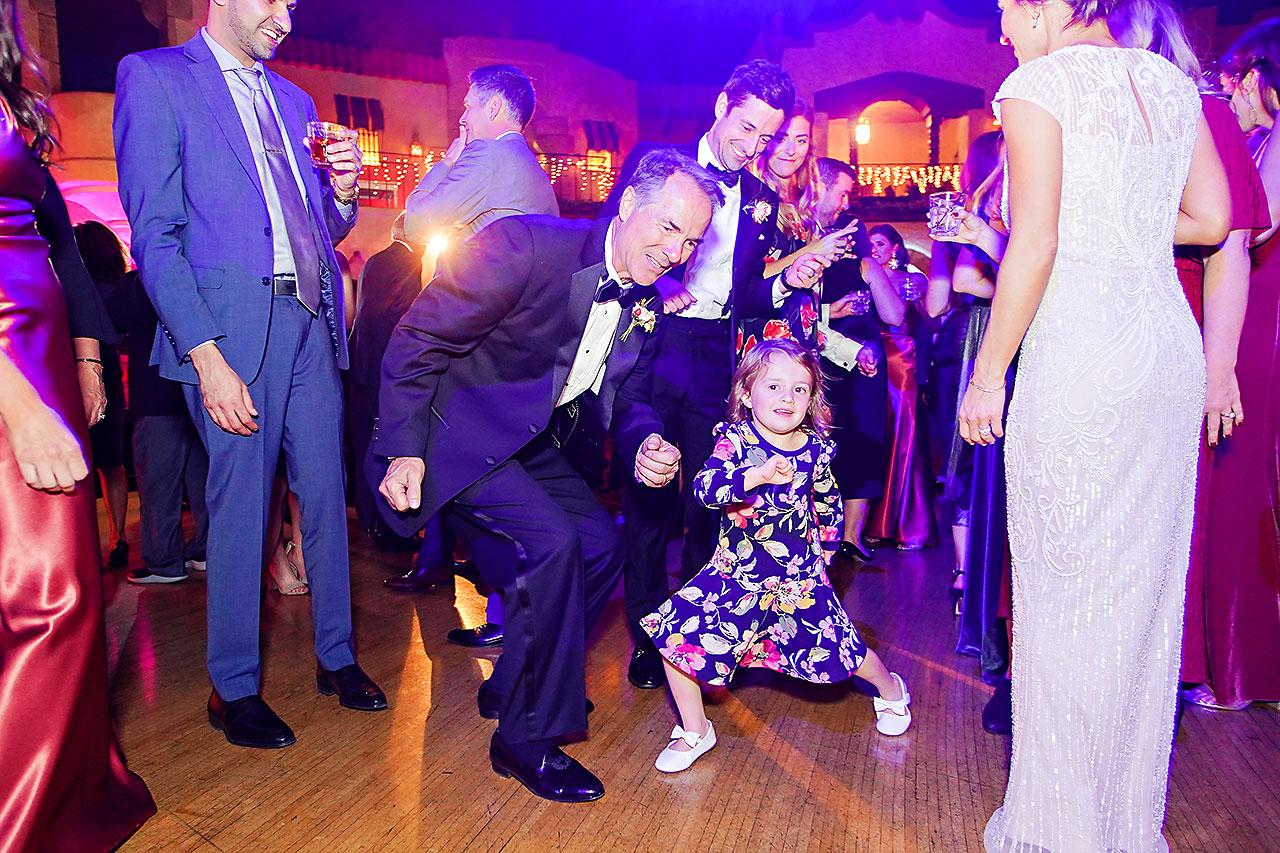 Lucia Matt Indiana Roof Ballroom Wedding Reception 220