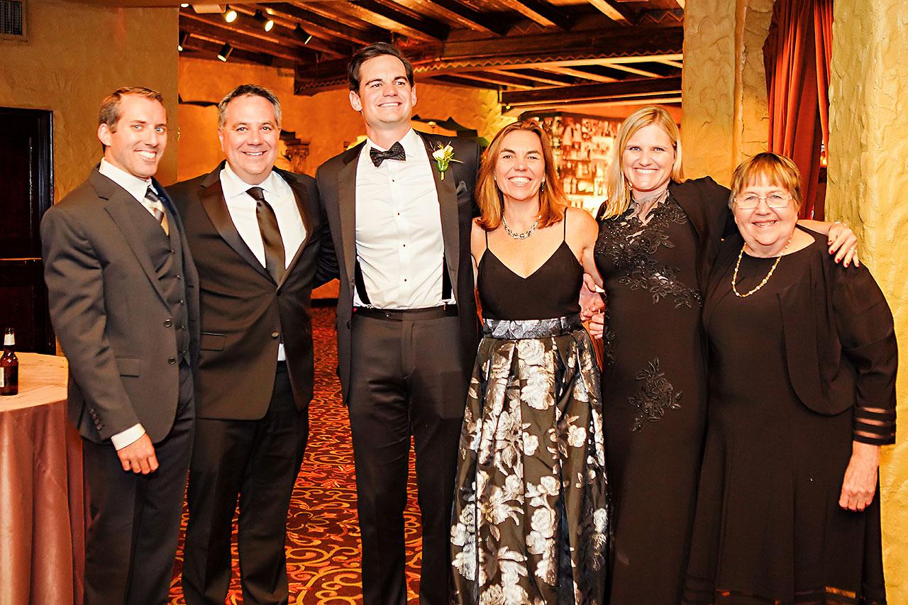 Lucia Matt Indiana Roof Ballroom Wedding Reception 214