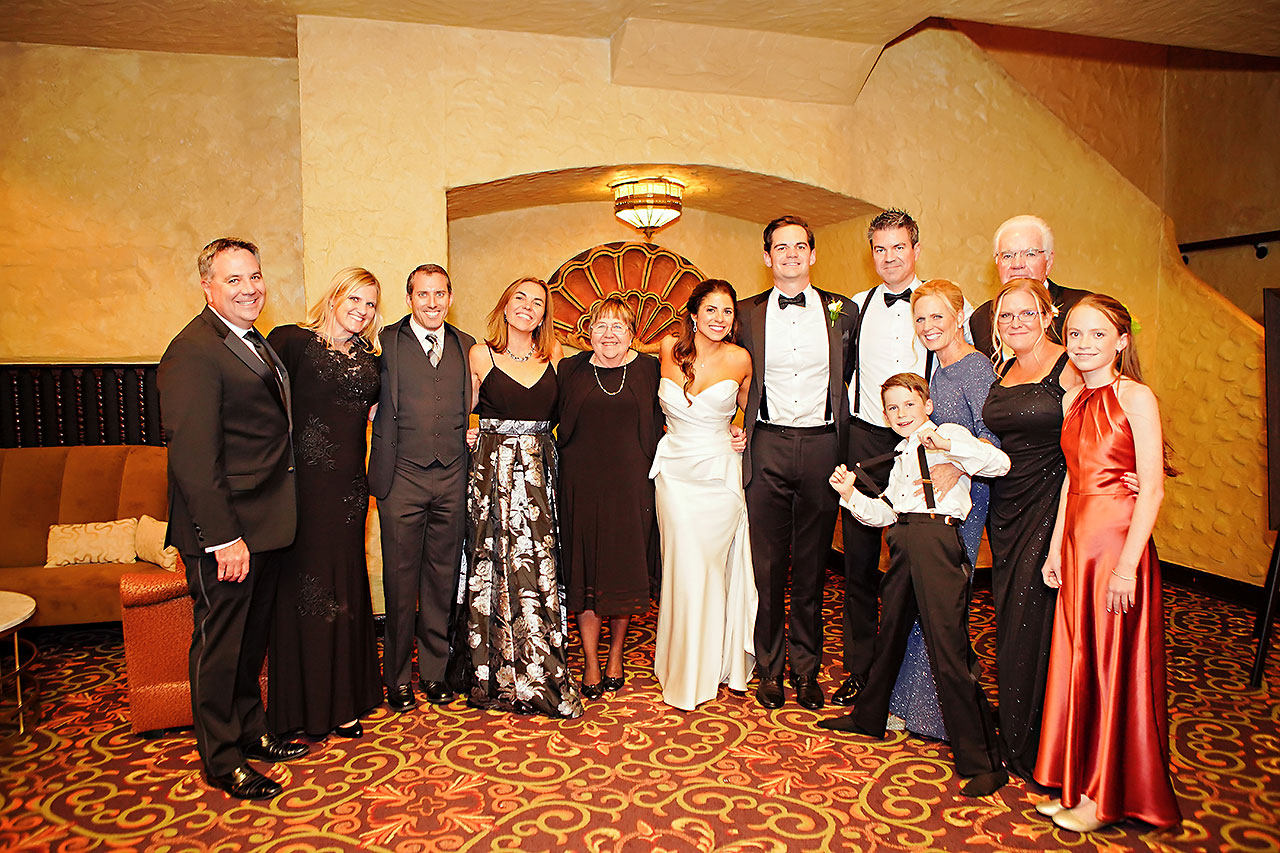 Lucia Matt Indiana Roof Ballroom Wedding Reception 209