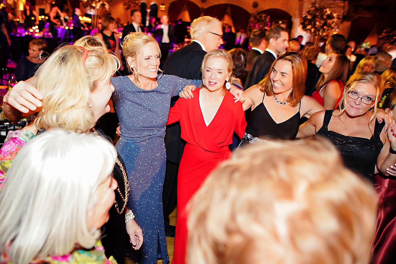 Lucia Matt Indiana Roof Ballroom Wedding Reception 202
