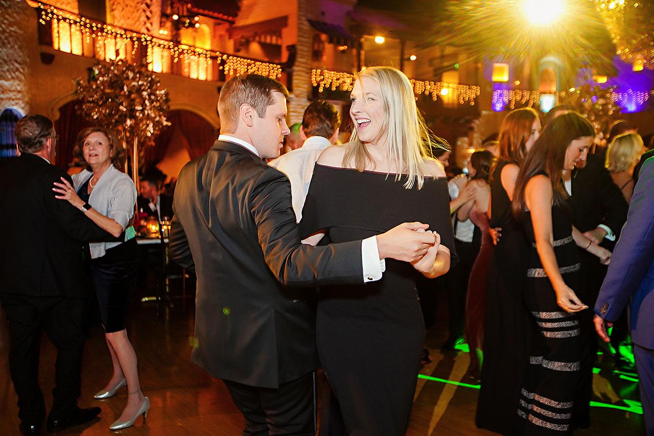Lucia Matt Indiana Roof Ballroom Wedding Reception 201