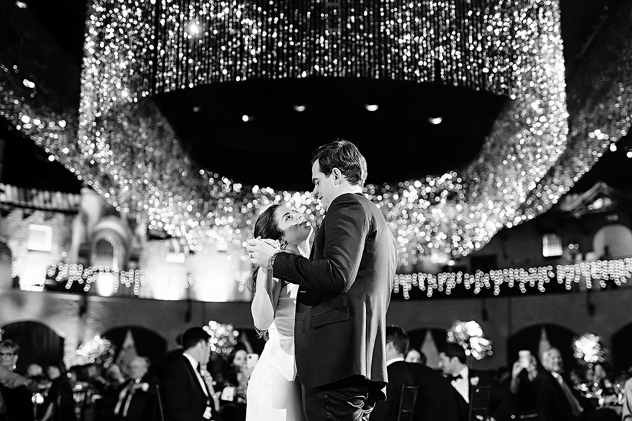 Lucia Matt Indiana Roof Ballroom Wedding Reception 195