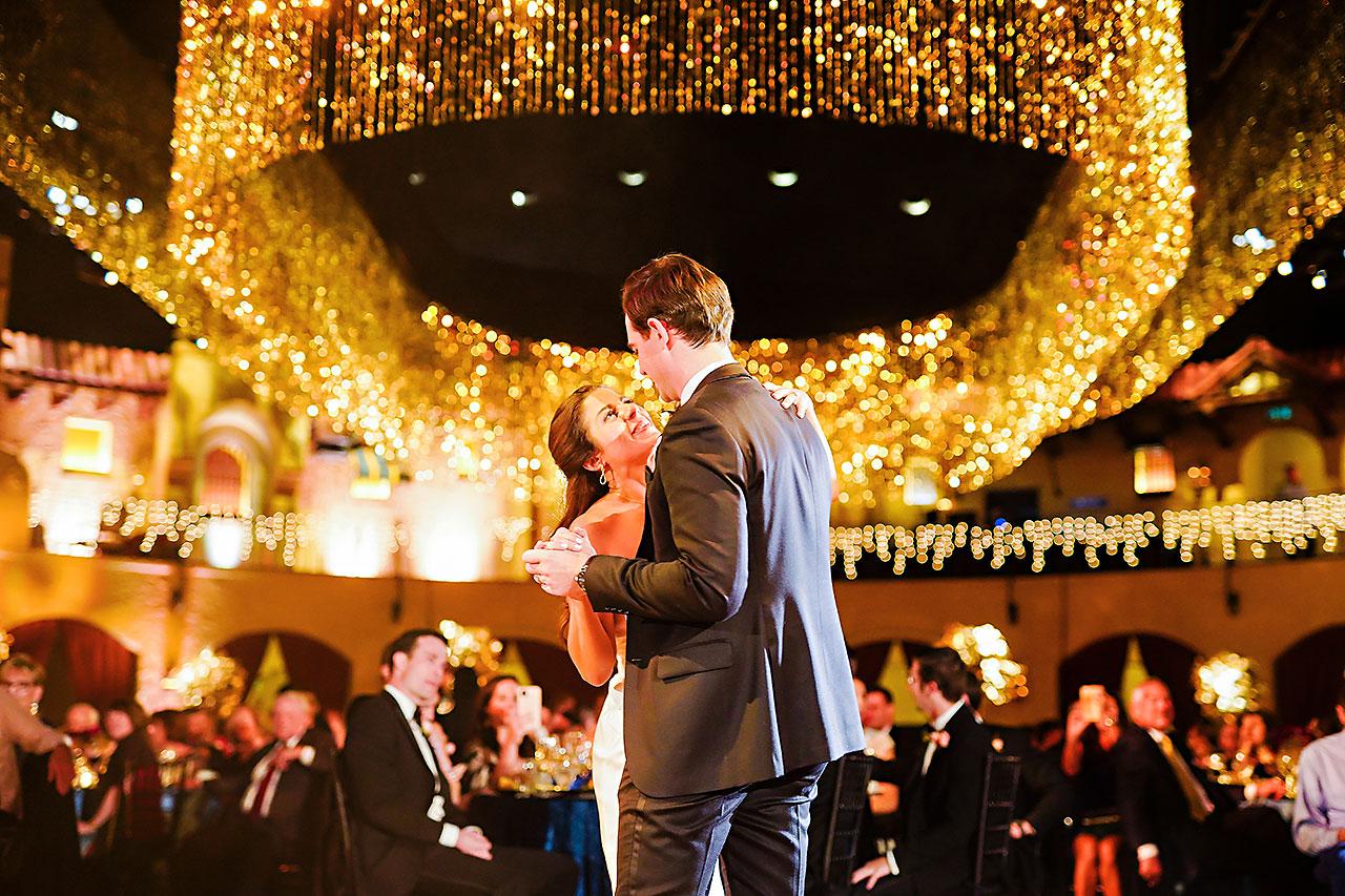 Lucia Matt Indiana Roof Ballroom Wedding Reception 196