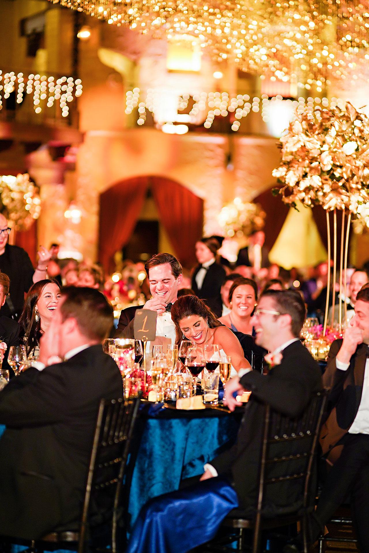 Lucia Matt Indiana Roof Ballroom Wedding Reception 186