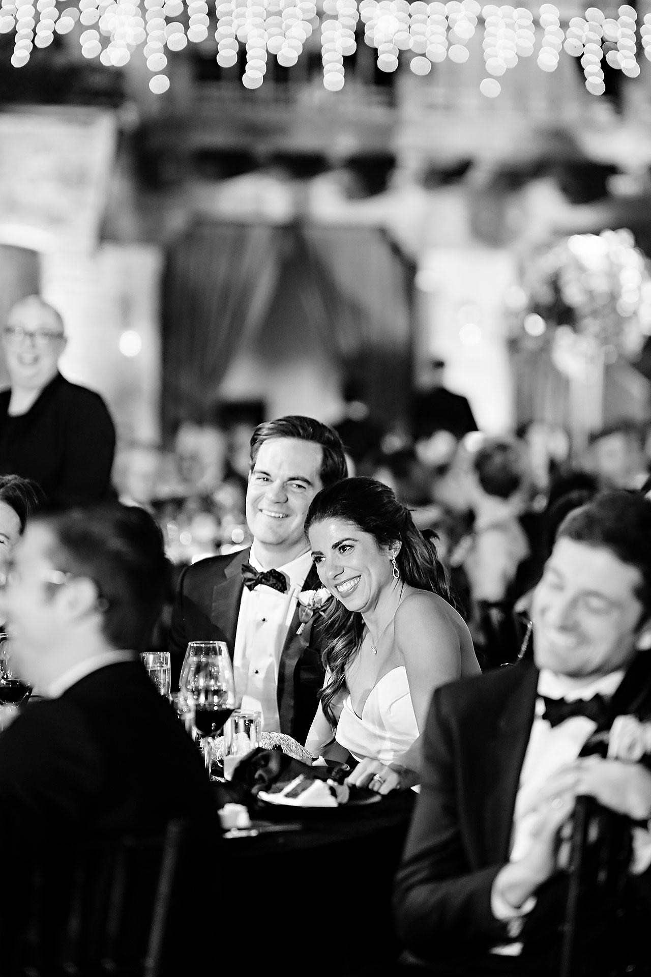 Lucia Matt Indiana Roof Ballroom Wedding Reception 183