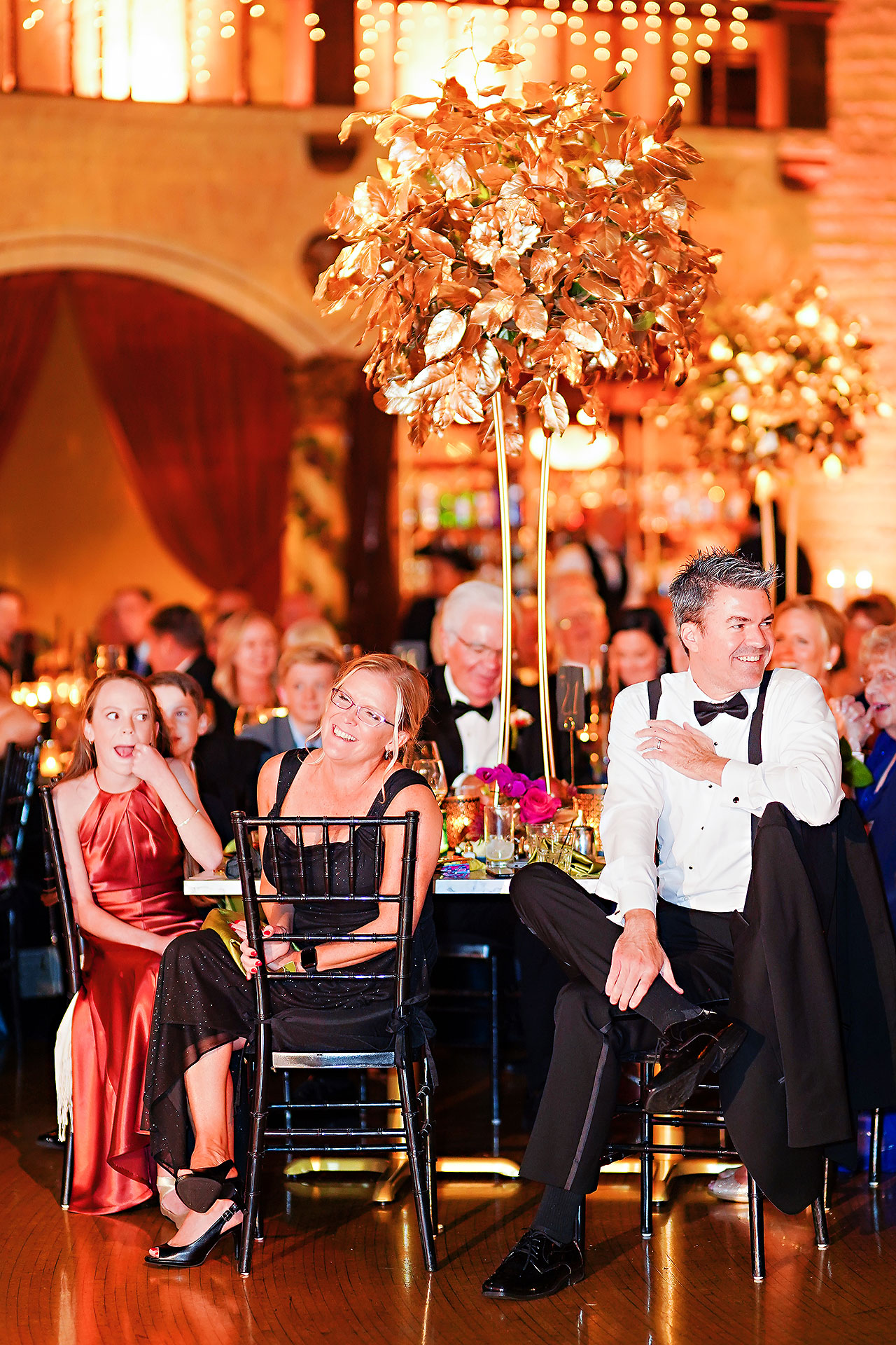Lucia Matt Indiana Roof Ballroom Wedding Reception 184