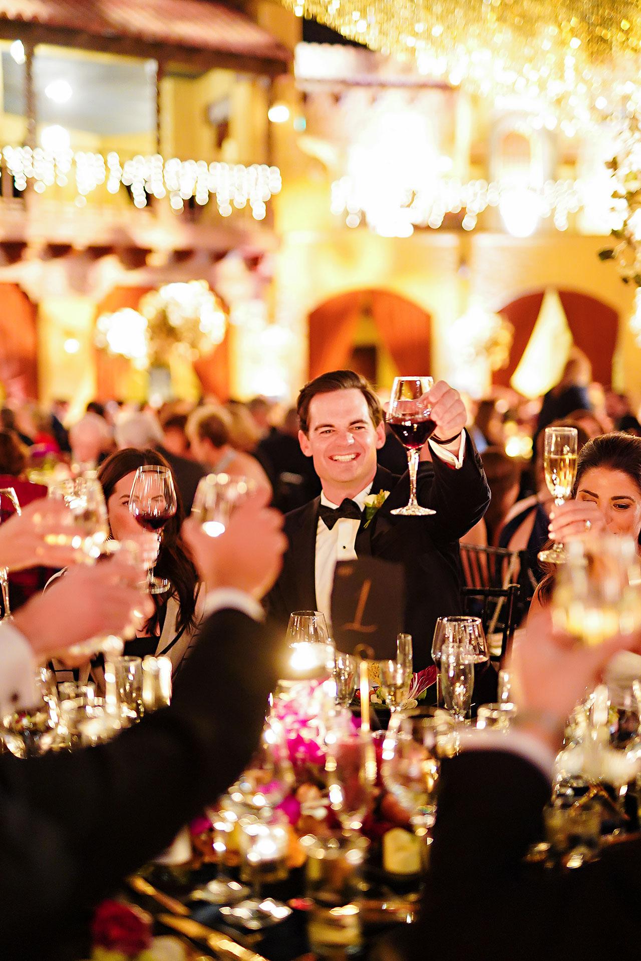 Lucia Matt Indiana Roof Ballroom Wedding Reception 181