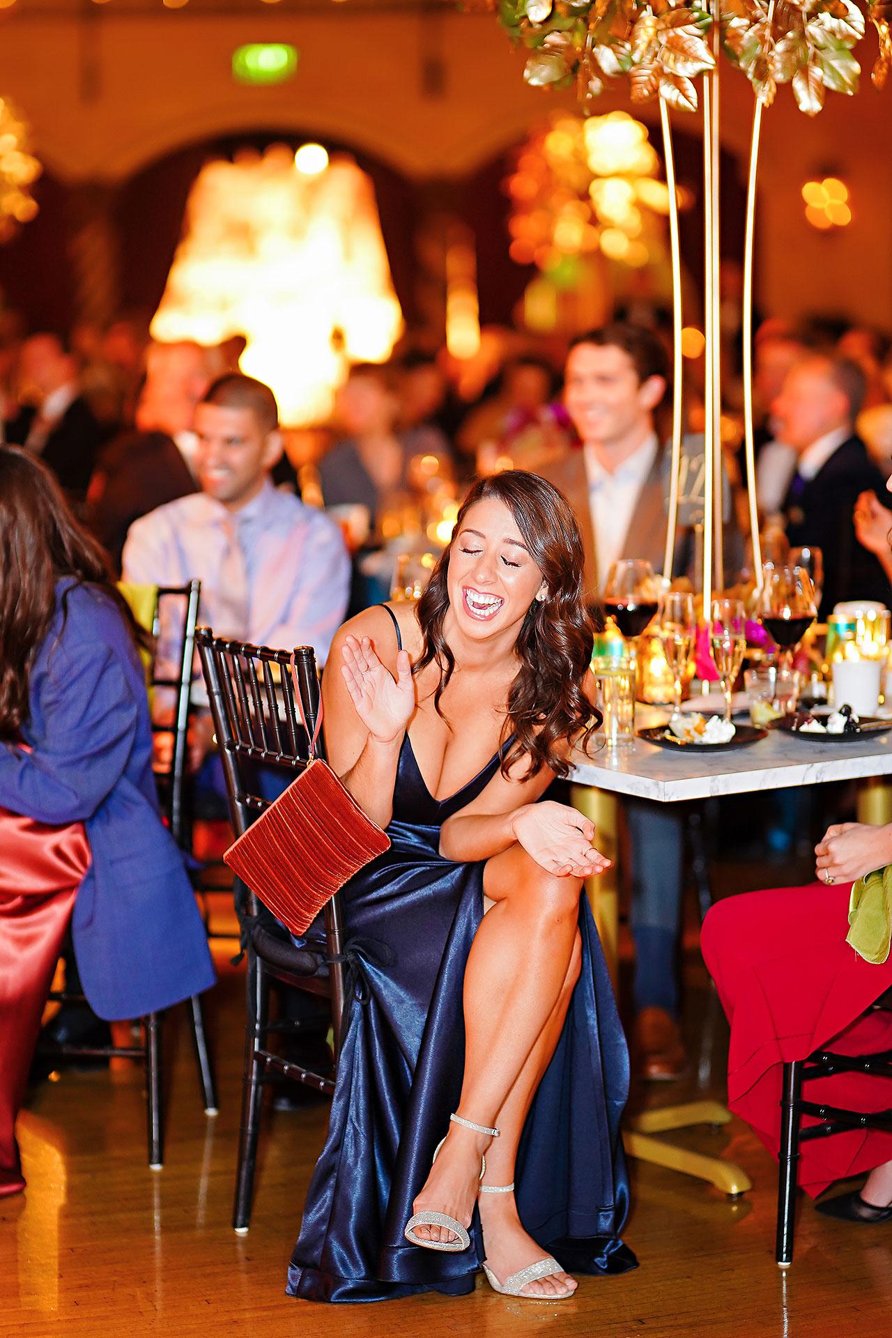 Lucia Matt Indiana Roof Ballroom Wedding Reception 178