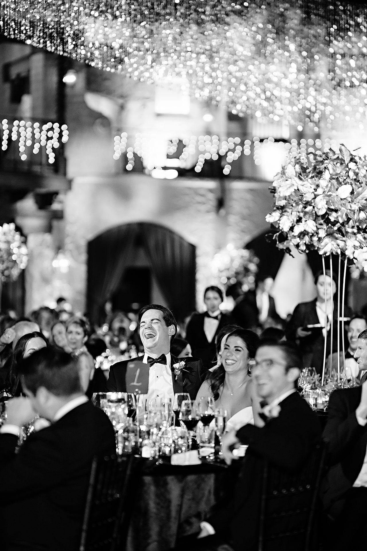 Lucia Matt Indiana Roof Ballroom Wedding Reception 177
