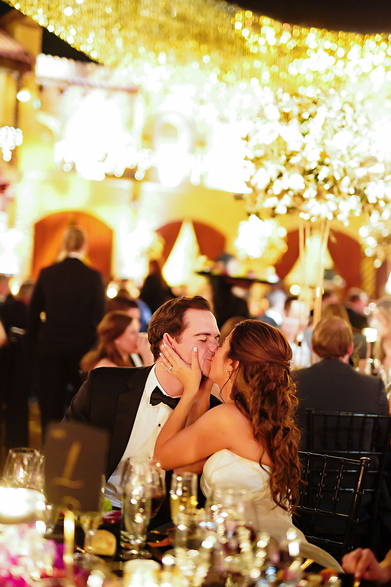 Lucia Matt Indiana Roof Ballroom Wedding Reception 176