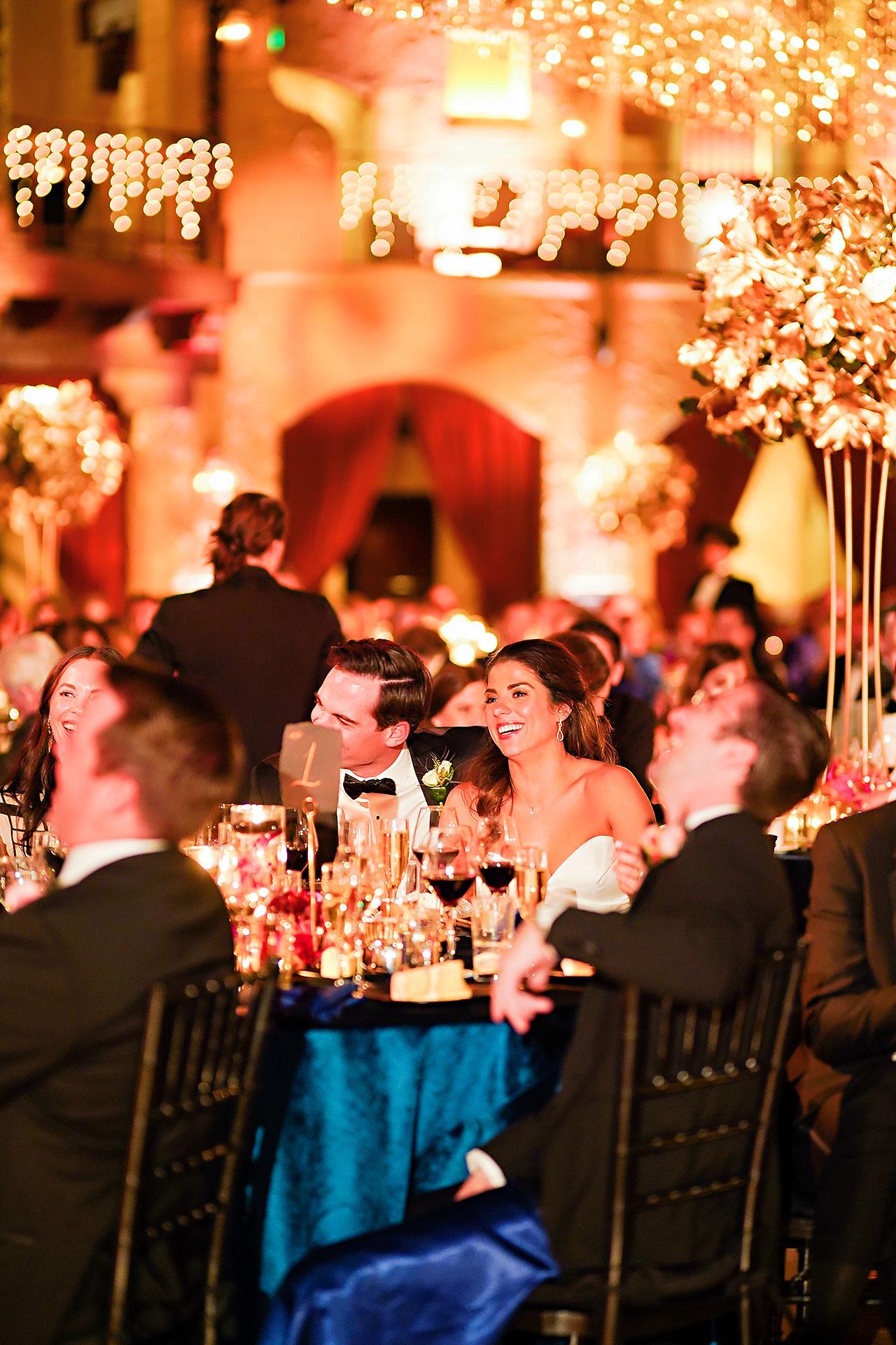 Lucia Matt Indiana Roof Ballroom Wedding Reception 173