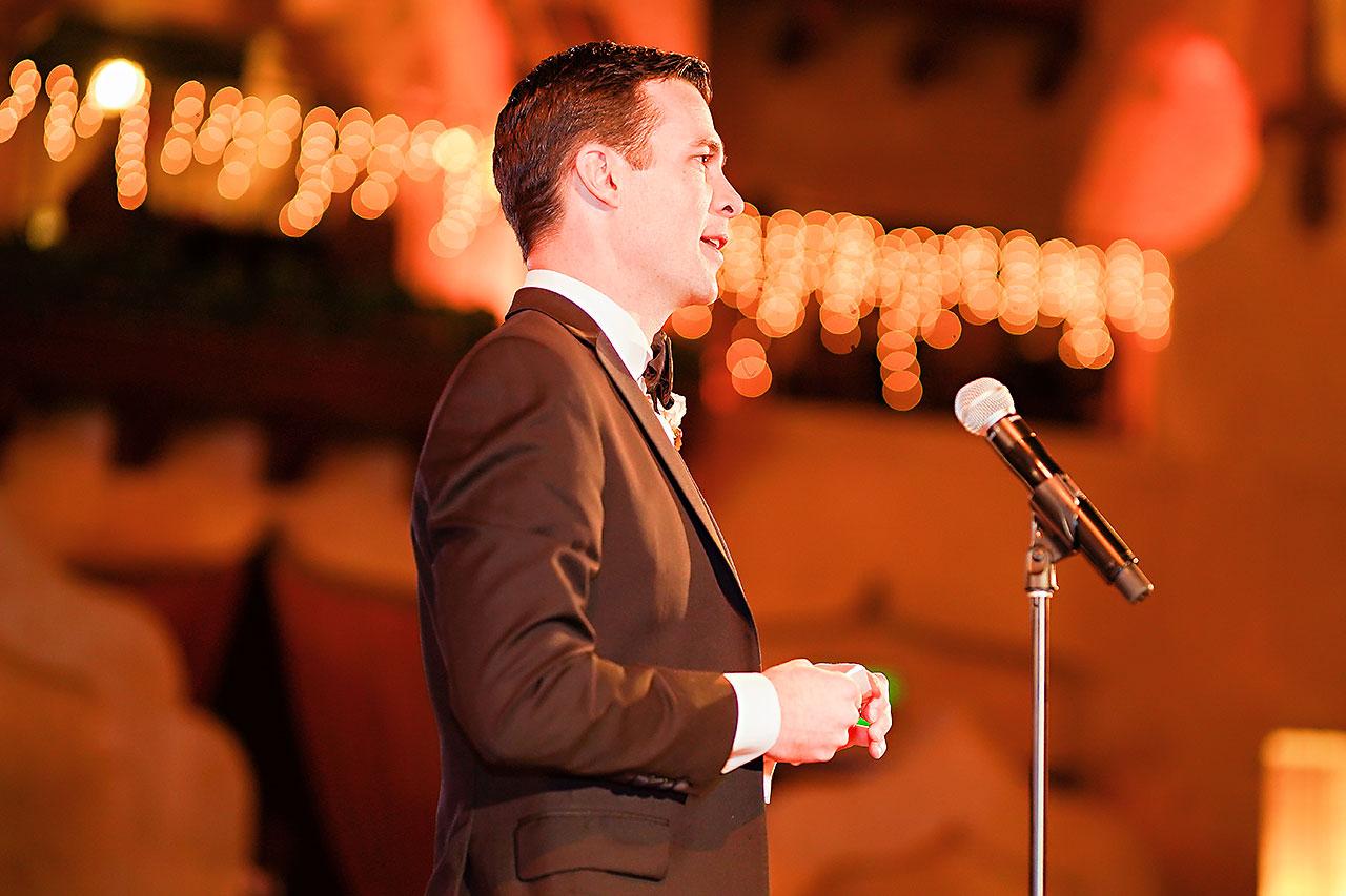 Lucia Matt Indiana Roof Ballroom Wedding Reception 172