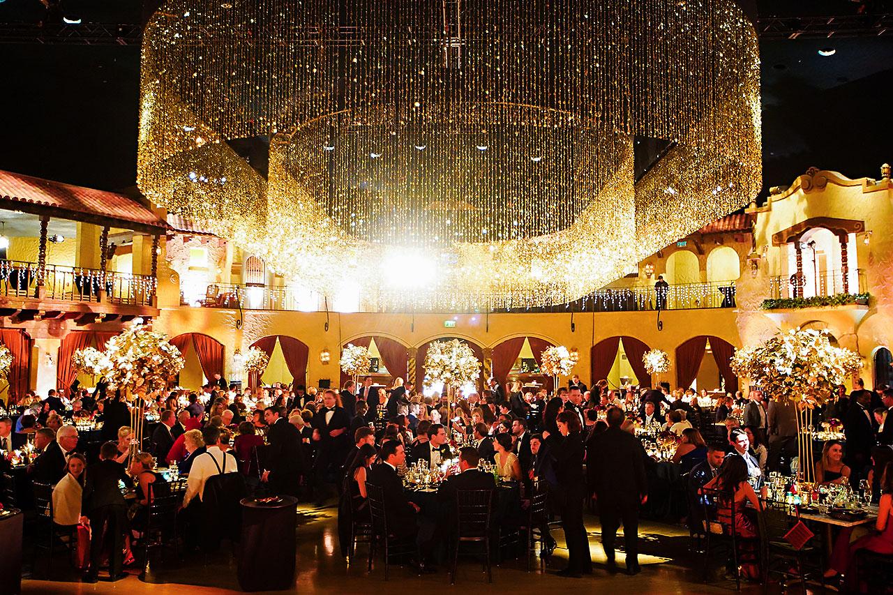 Lucia Matt Indiana Roof Ballroom Wedding Reception 163