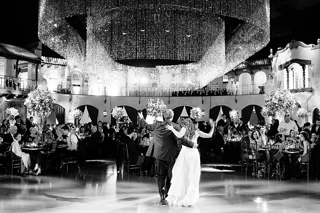 Lucia Matt Indiana Roof Ballroom Wedding Reception 161