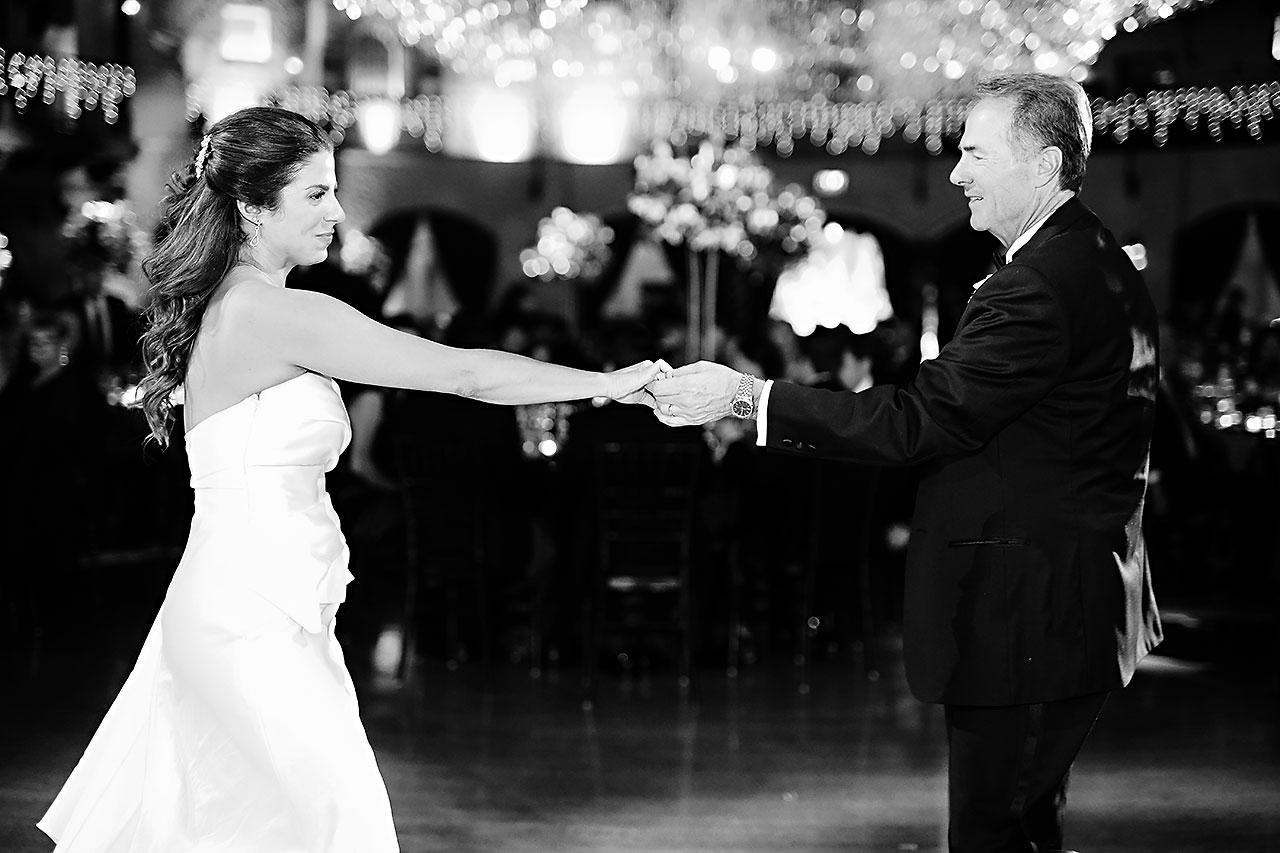 Lucia Matt Indiana Roof Ballroom Wedding Reception 154