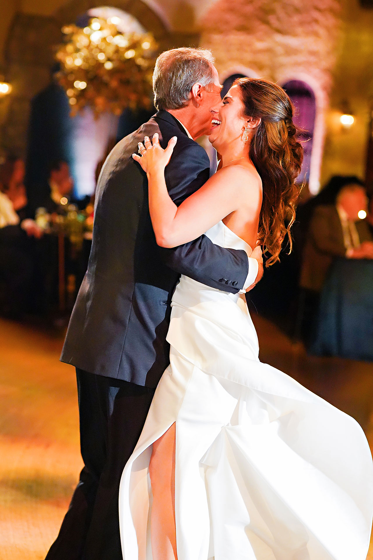 Lucia Matt Indiana Roof Ballroom Wedding Reception 155
