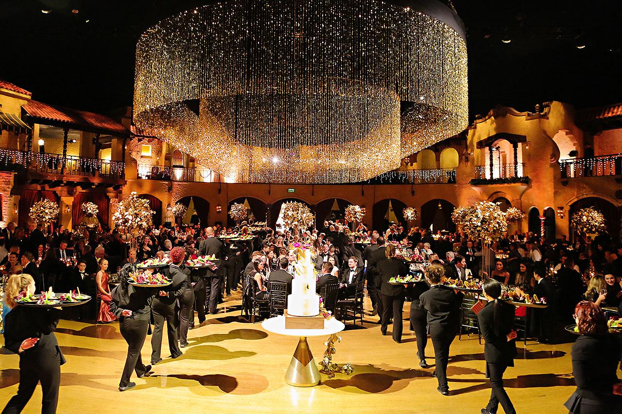 Lucia Matt Indiana Roof Ballroom Wedding Reception 152