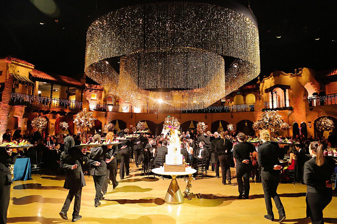 Lucia Matt Indiana Roof Ballroom Wedding Reception 149
