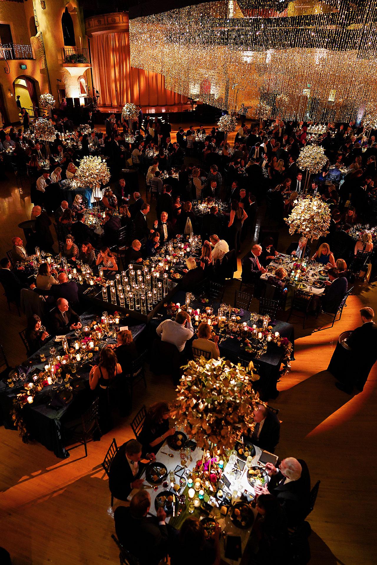 Lucia Matt Indiana Roof Ballroom Wedding Reception 147