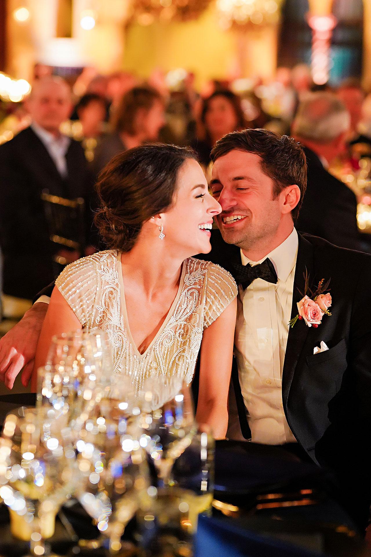 Lucia Matt Indiana Roof Ballroom Wedding Reception 143