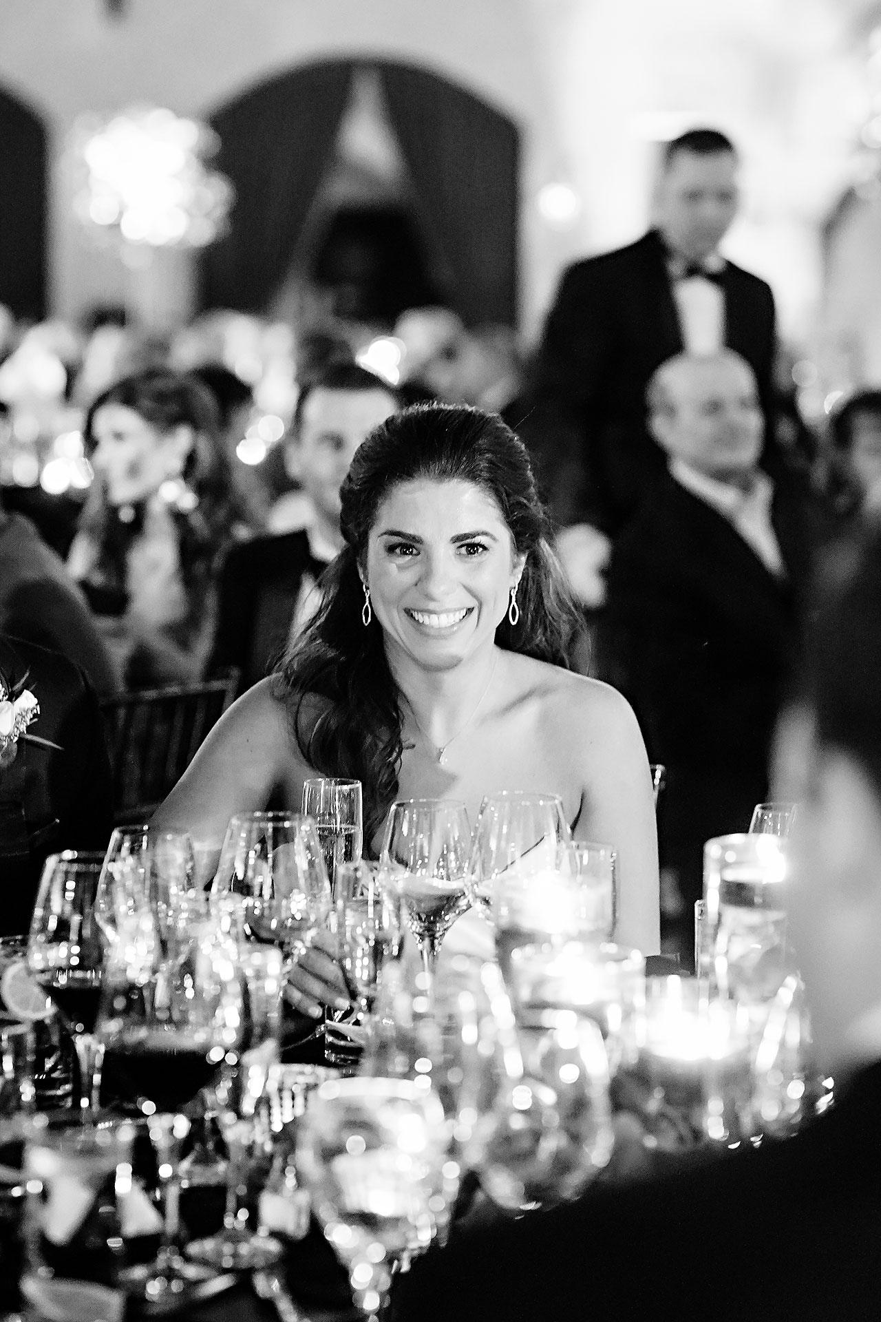 Lucia Matt Indiana Roof Ballroom Wedding Reception 144