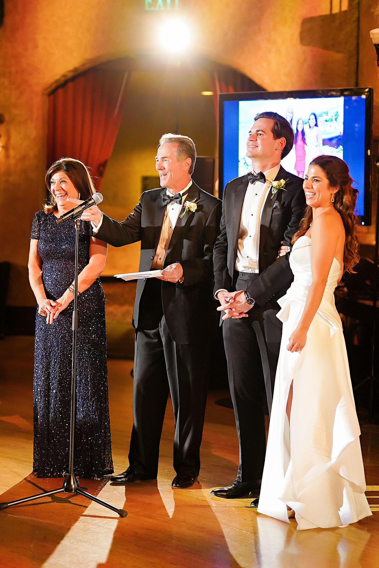 Lucia Matt Indiana Roof Ballroom Wedding Reception 140