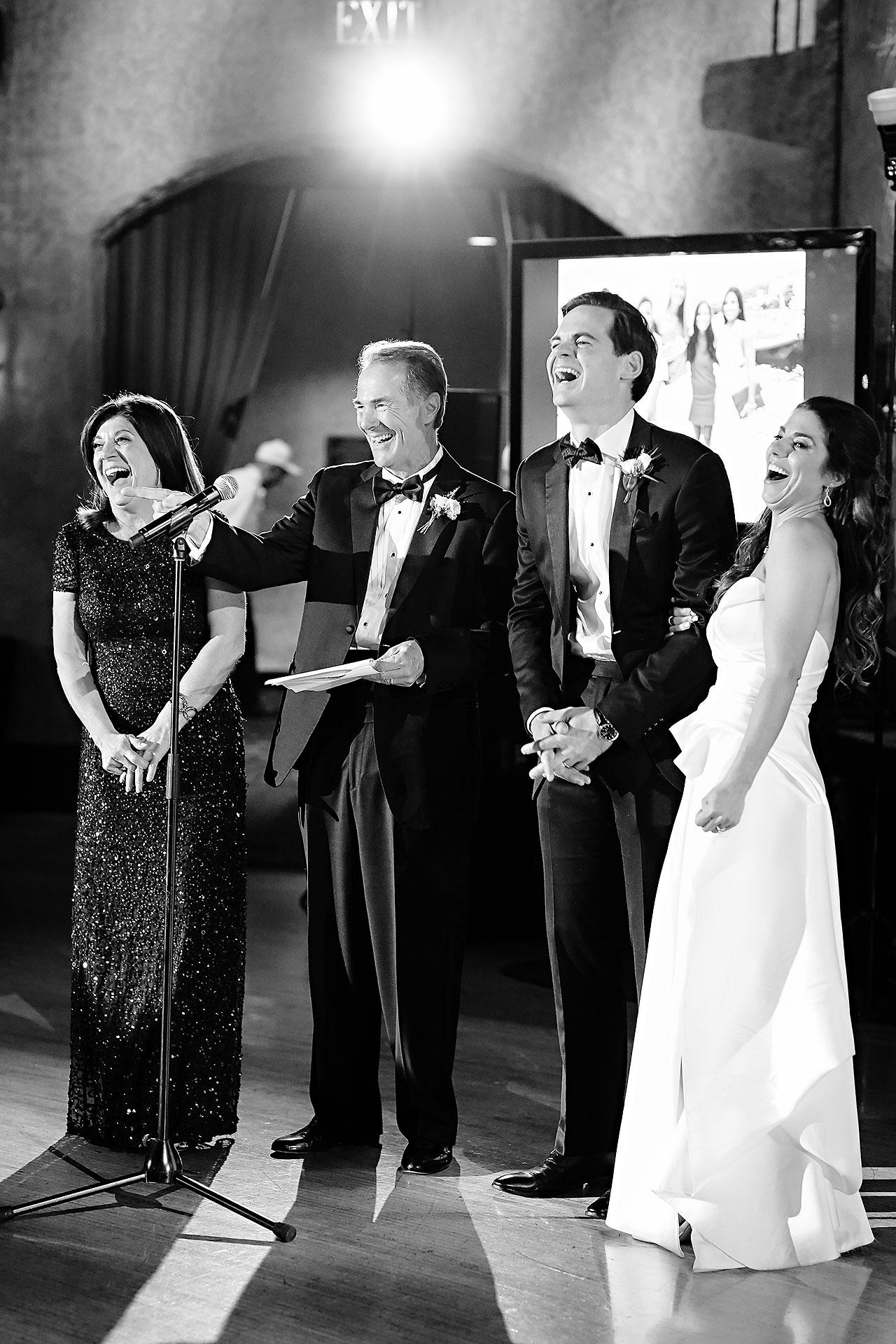 Lucia Matt Indiana Roof Ballroom Wedding Reception 141