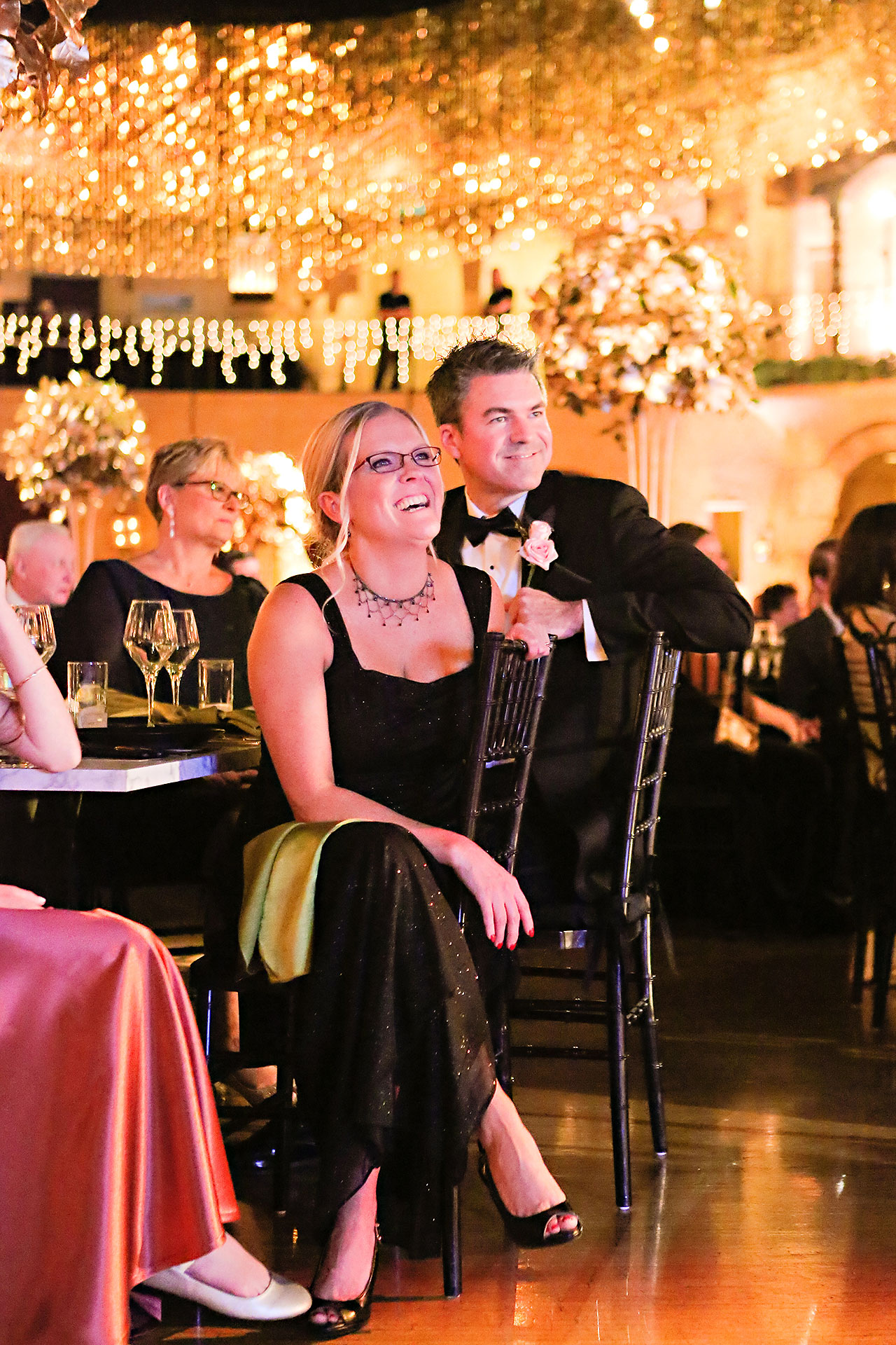 Lucia Matt Indiana Roof Ballroom Wedding Reception 138