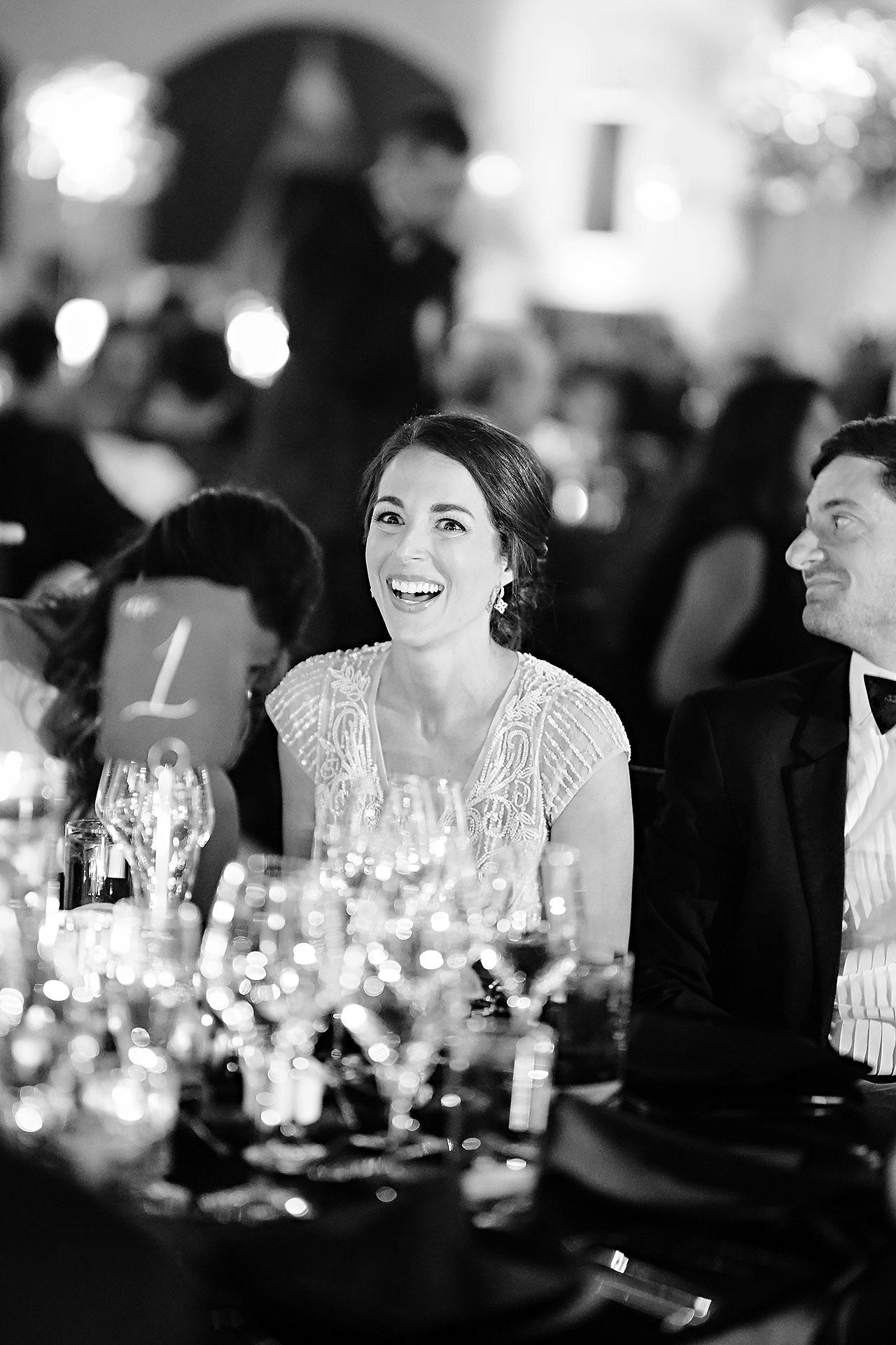 Lucia Matt Indiana Roof Ballroom Wedding Reception 139
