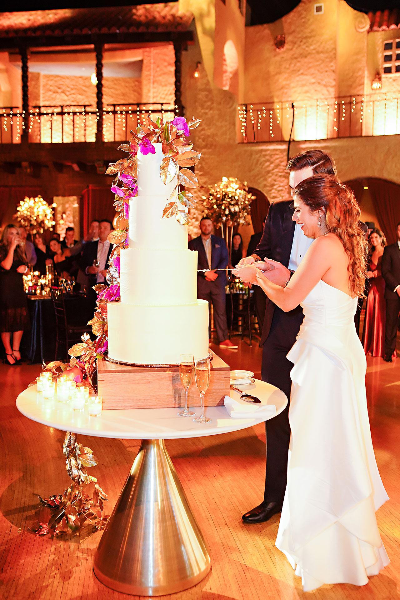 Lucia Matt Indiana Roof Ballroom Wedding Reception 133