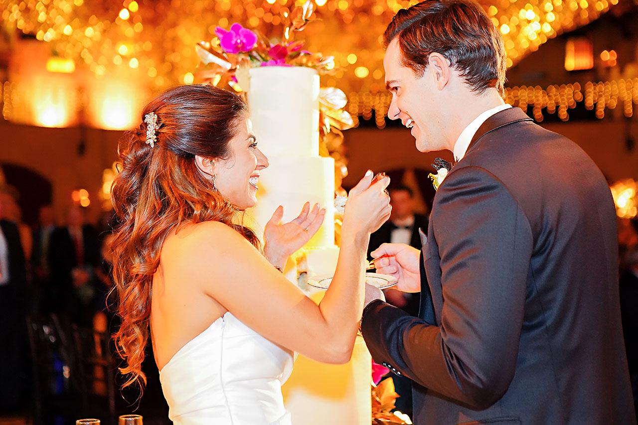 Lucia Matt Indiana Roof Ballroom Wedding Reception 134