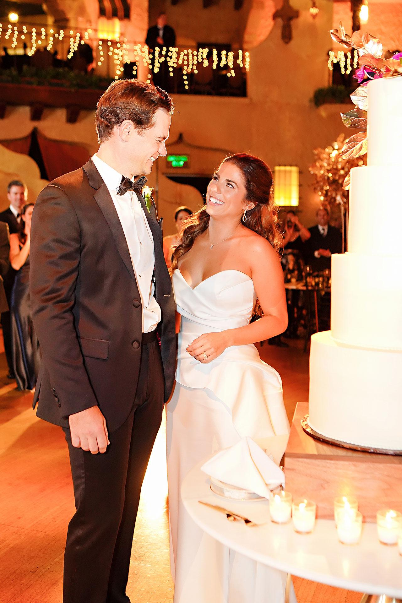 Lucia Matt Indiana Roof Ballroom Wedding Reception 131