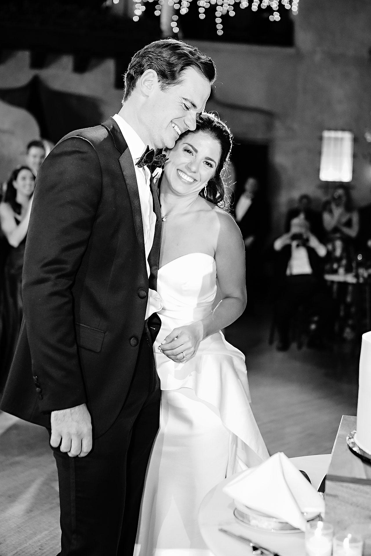 Lucia Matt Indiana Roof Ballroom Wedding Reception 132