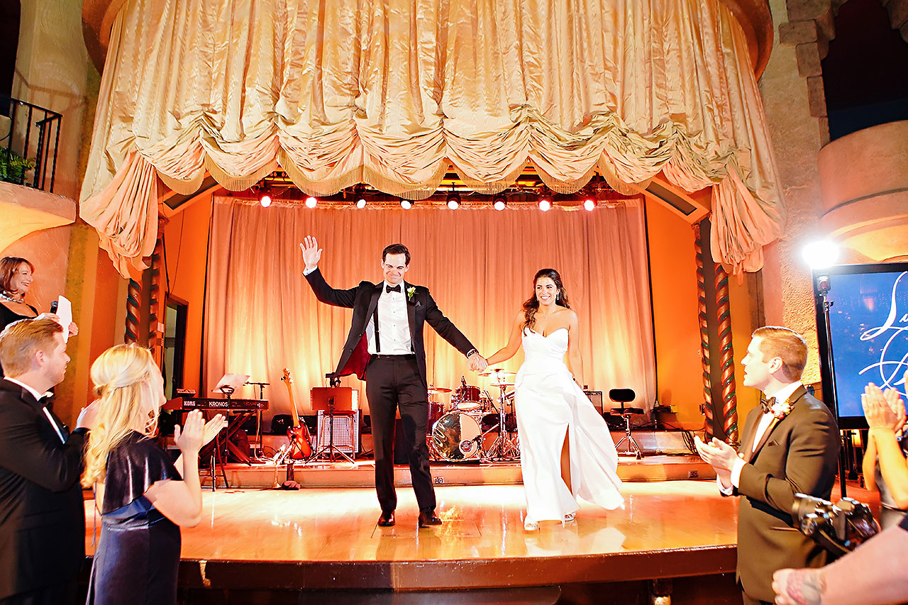 Lucia Matt Indiana Roof Ballroom Wedding Reception 129