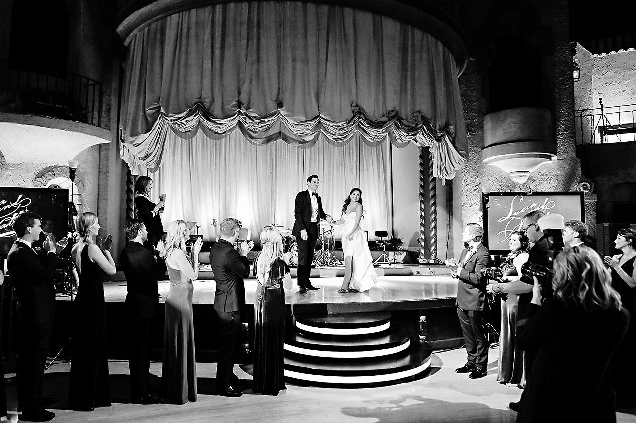 Lucia Matt Indiana Roof Ballroom Wedding Reception 128