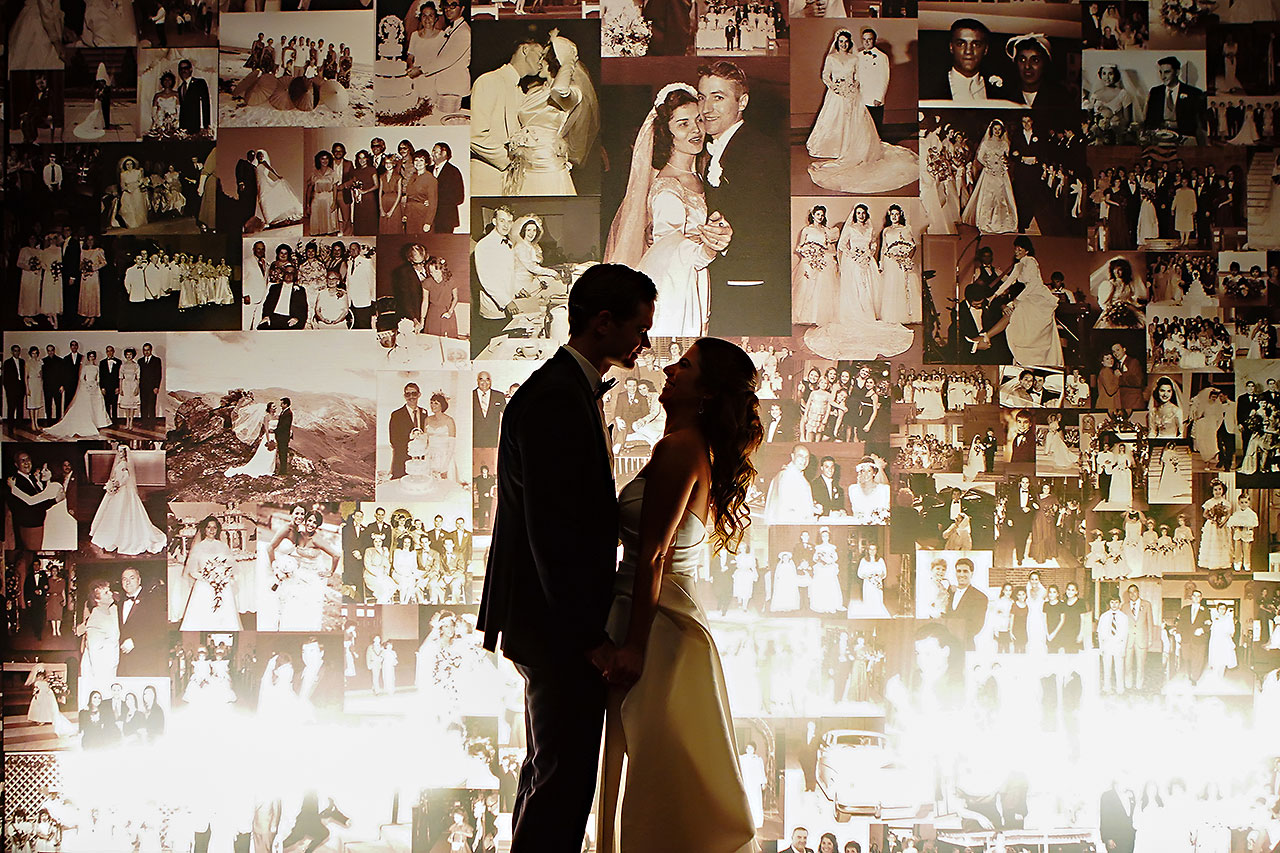 Lucia Matt Indiana Roof Ballroom Wedding Reception 124