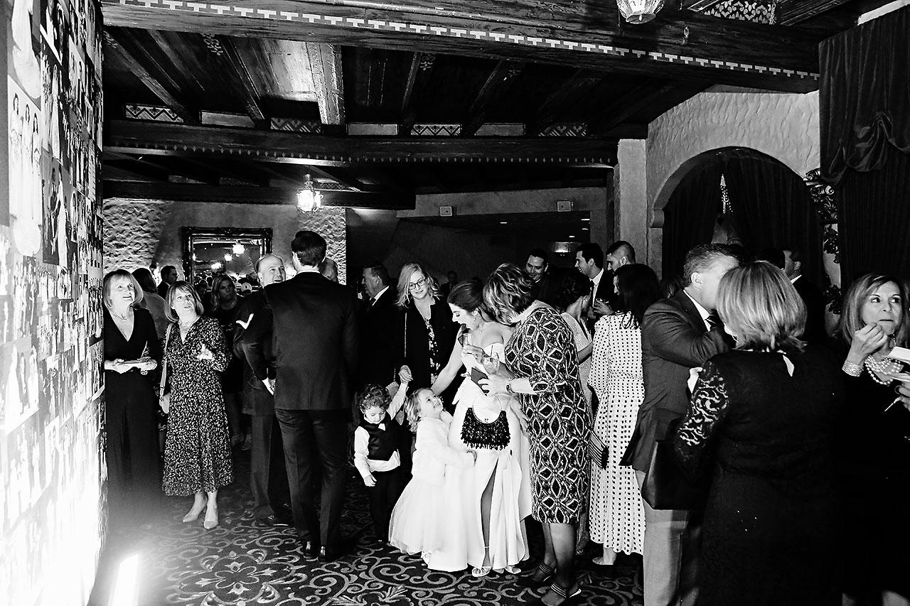 Lucia Matt Indiana Roof Ballroom Wedding Reception 121