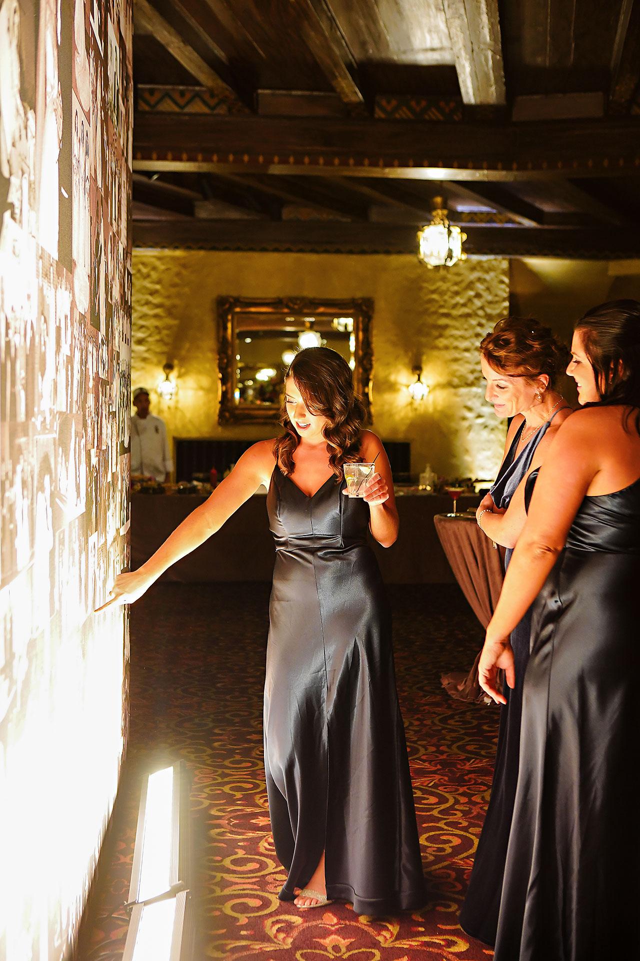 Lucia Matt Indiana Roof Ballroom Wedding Reception 107