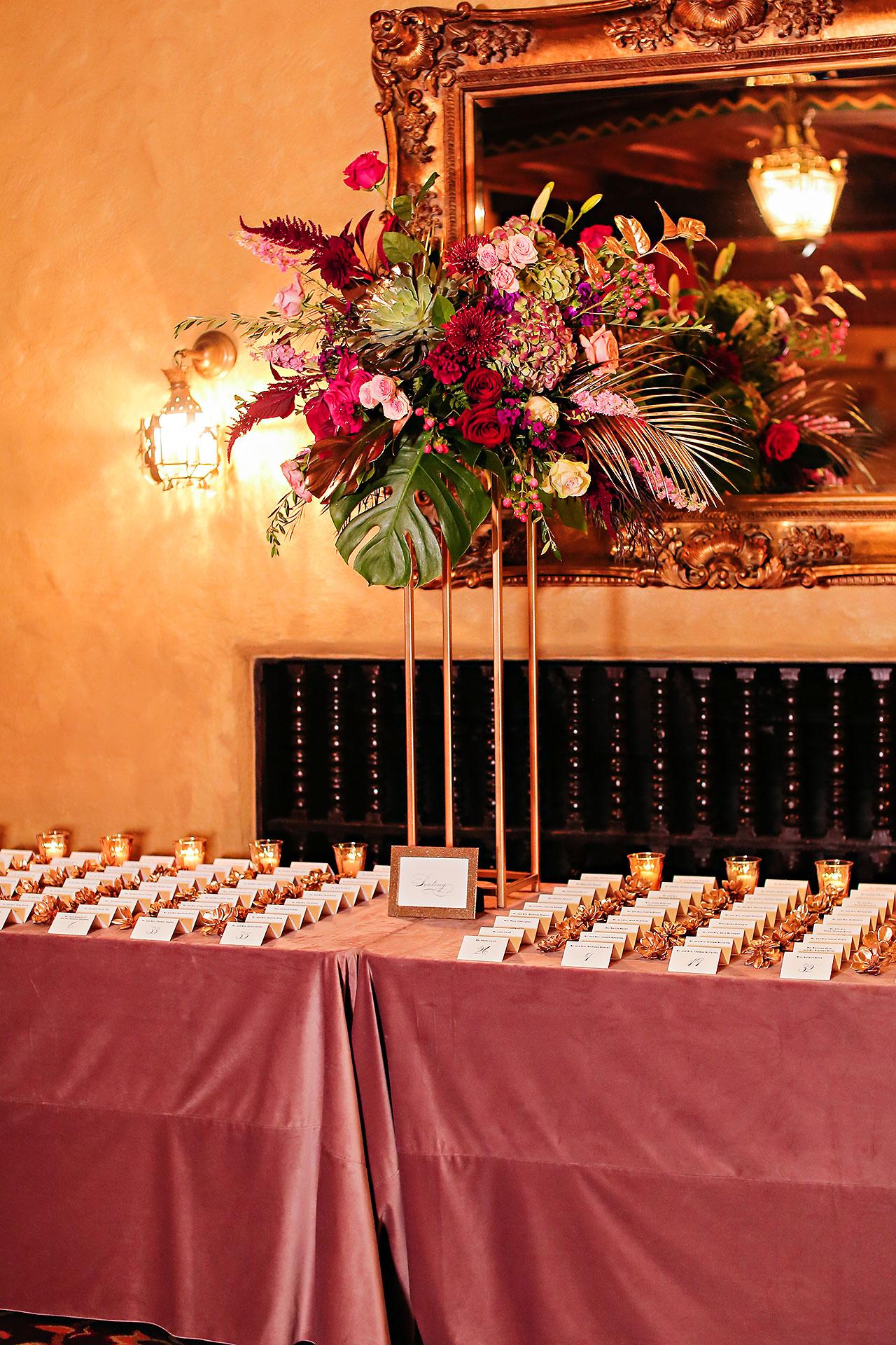Lucia Matt Indiana Roof Ballroom Wedding Reception 104