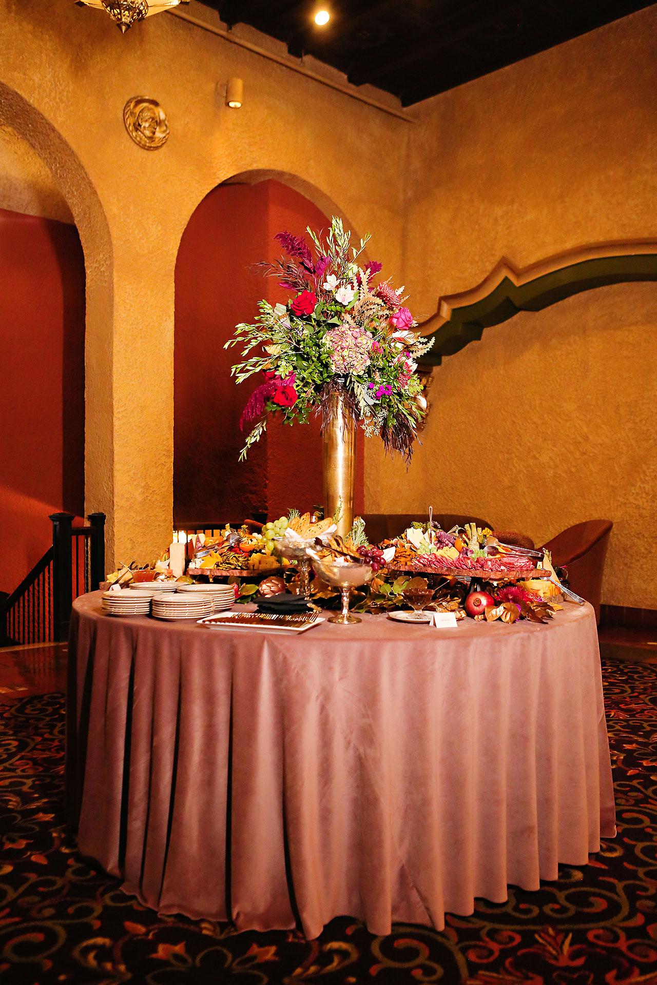 Lucia Matt Indiana Roof Ballroom Wedding Reception 095