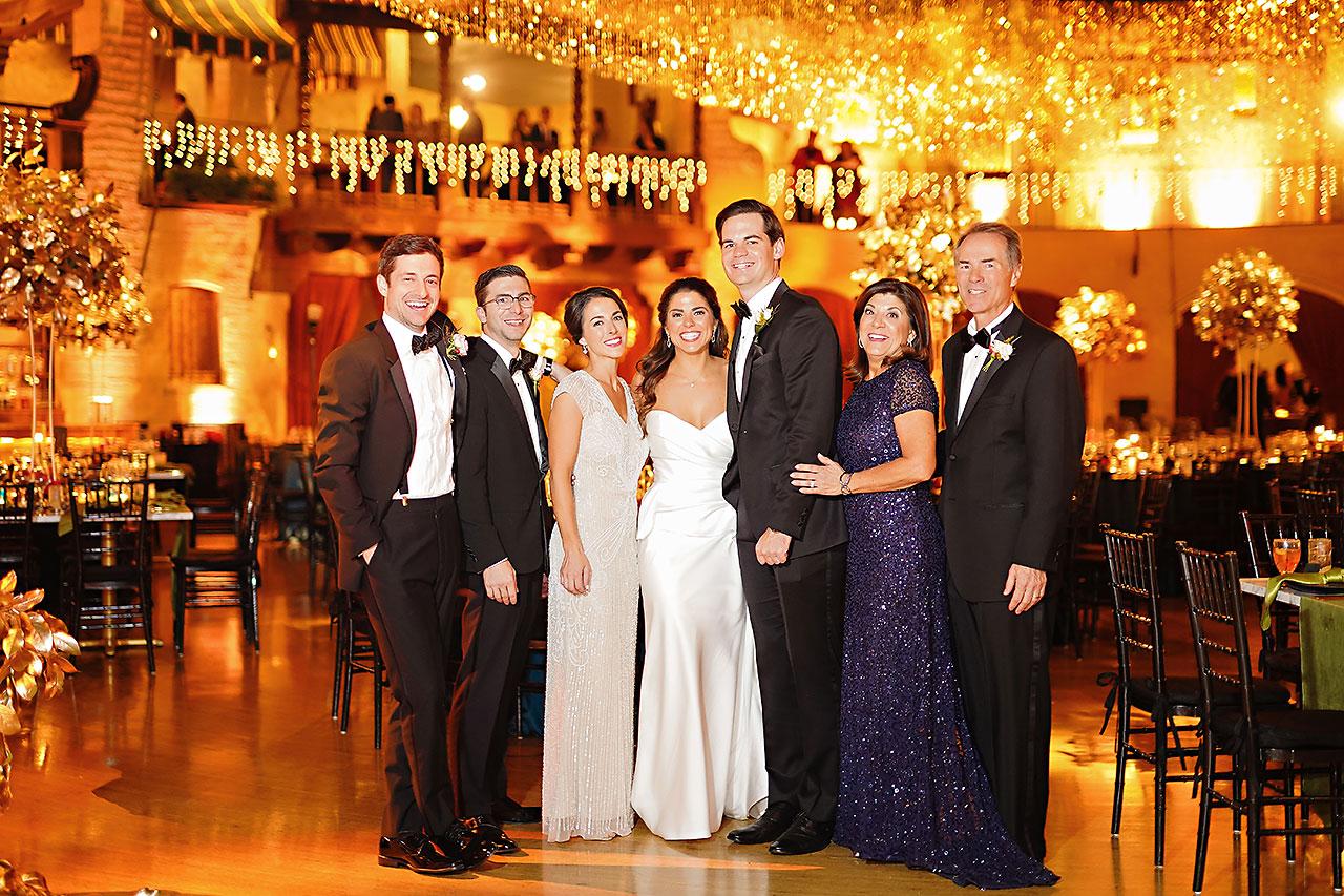 Lucia Matt Indiana Roof Ballroom Wedding Reception 090