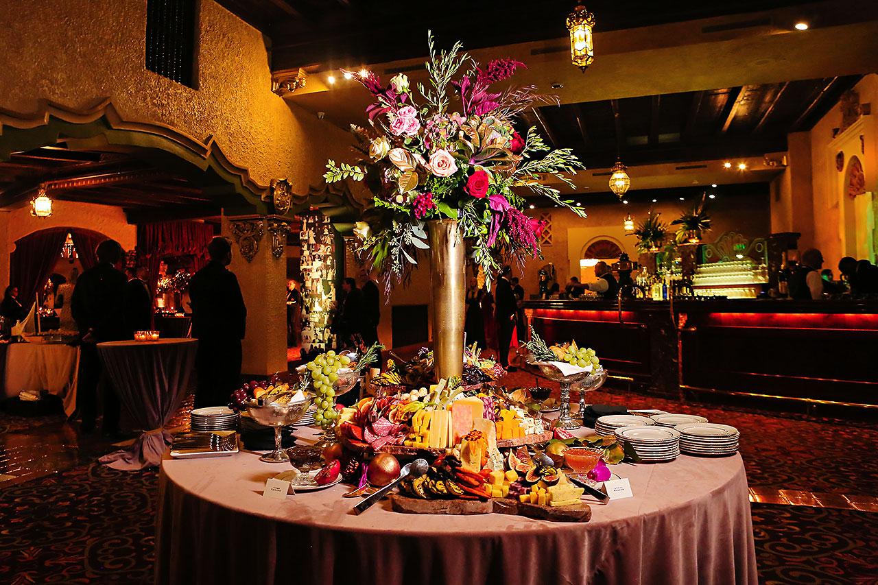 Lucia Matt Indiana Roof Ballroom Wedding Reception 088