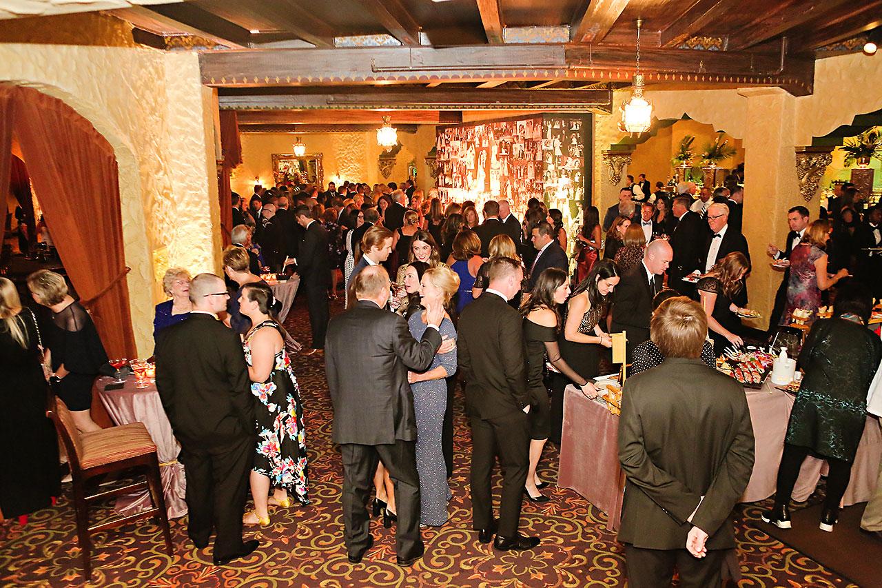 Lucia Matt Indiana Roof Ballroom Wedding Reception 081