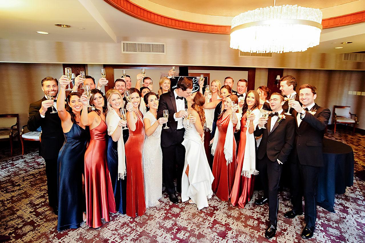 Lucia Matt Indiana Roof Ballroom Wedding Reception 079