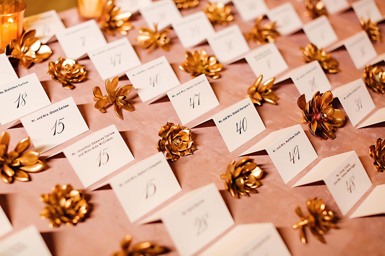 Lucia Matt Indiana Roof Ballroom Wedding Reception 080
