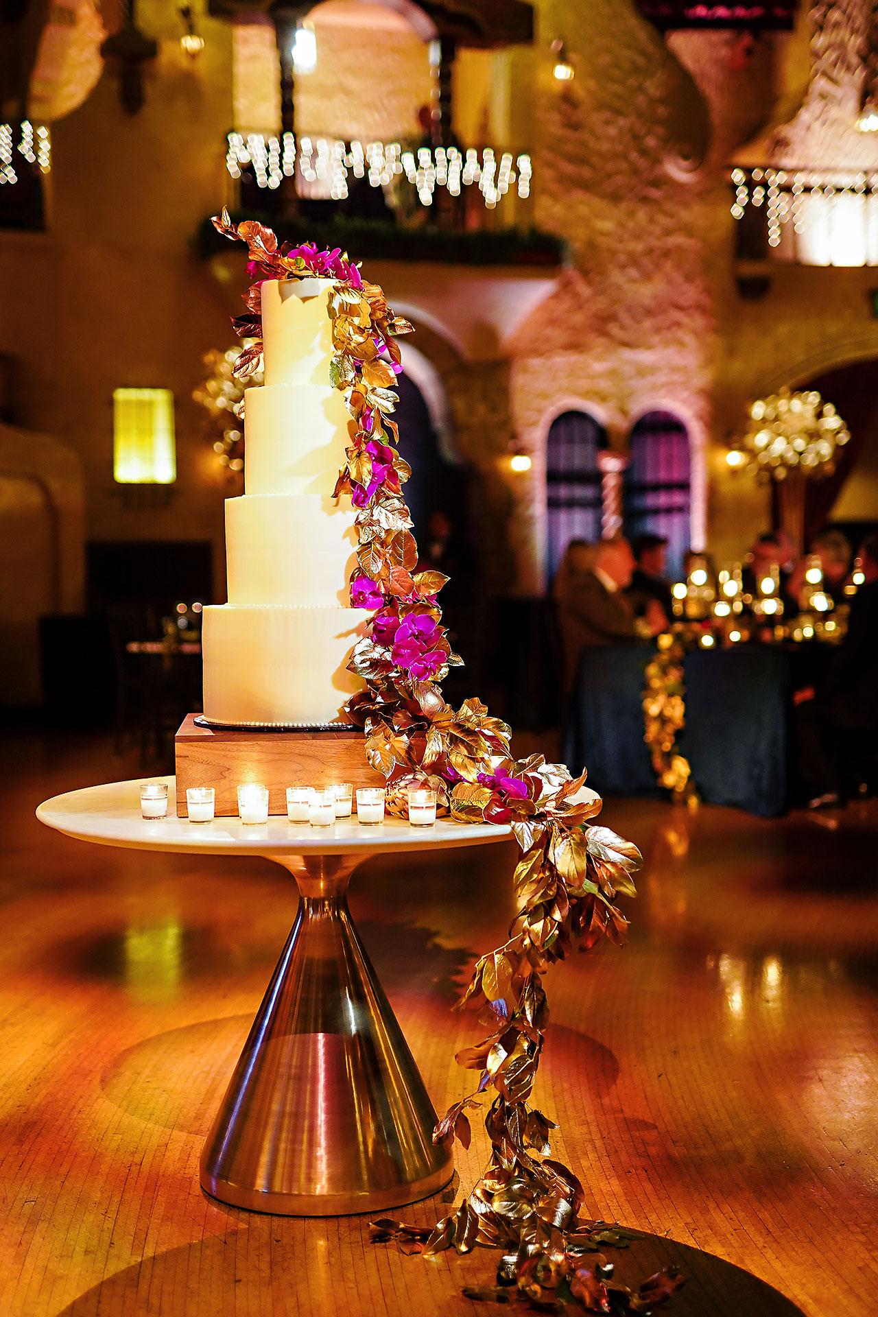 Lucia Matt Indiana Roof Ballroom Wedding Reception 076