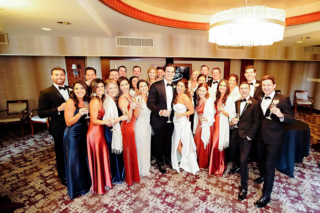 Lucia Matt Indiana Roof Ballroom Wedding Reception 078