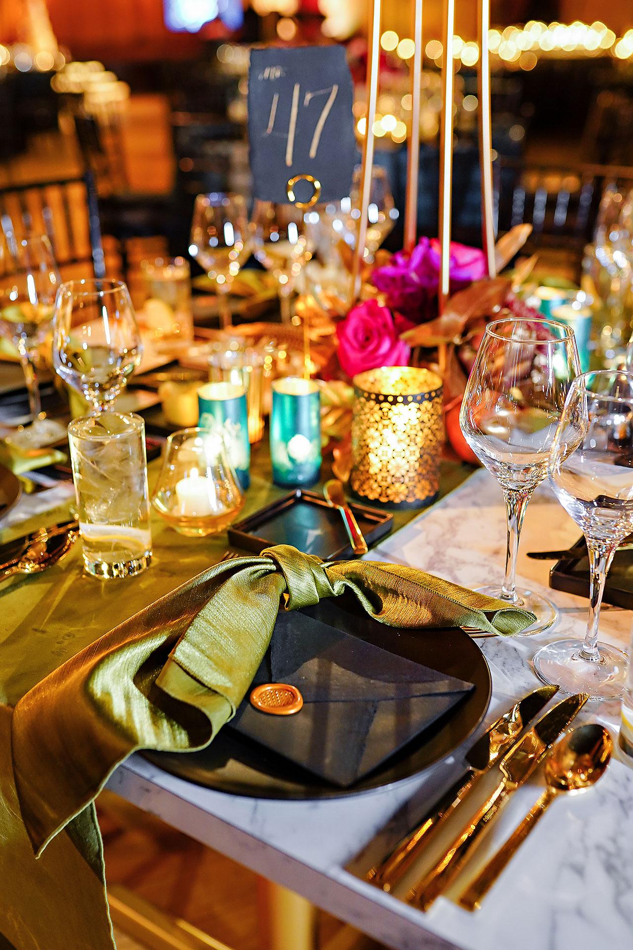 Lucia Matt Indiana Roof Ballroom Wedding Reception 074