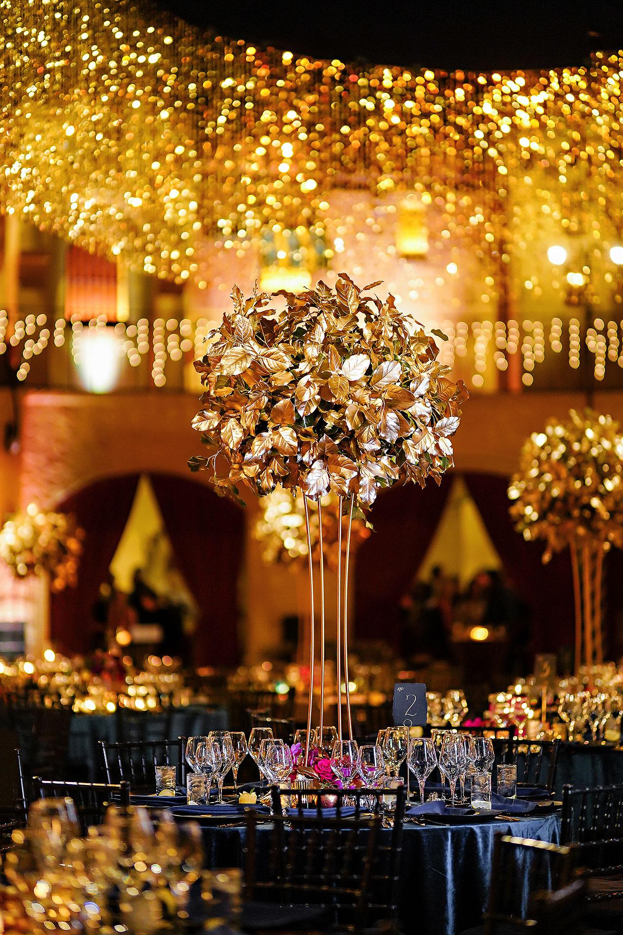 Lucia Matt Indiana Roof Ballroom Wedding Reception 069